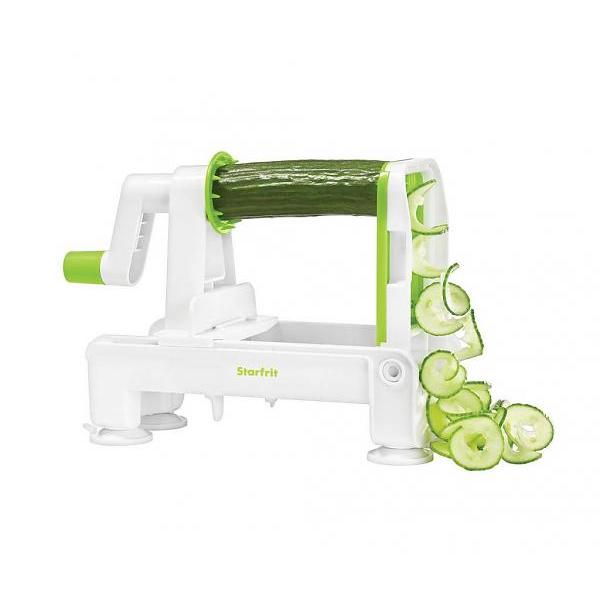 Foldable Spiral Slicer with 3 Blades