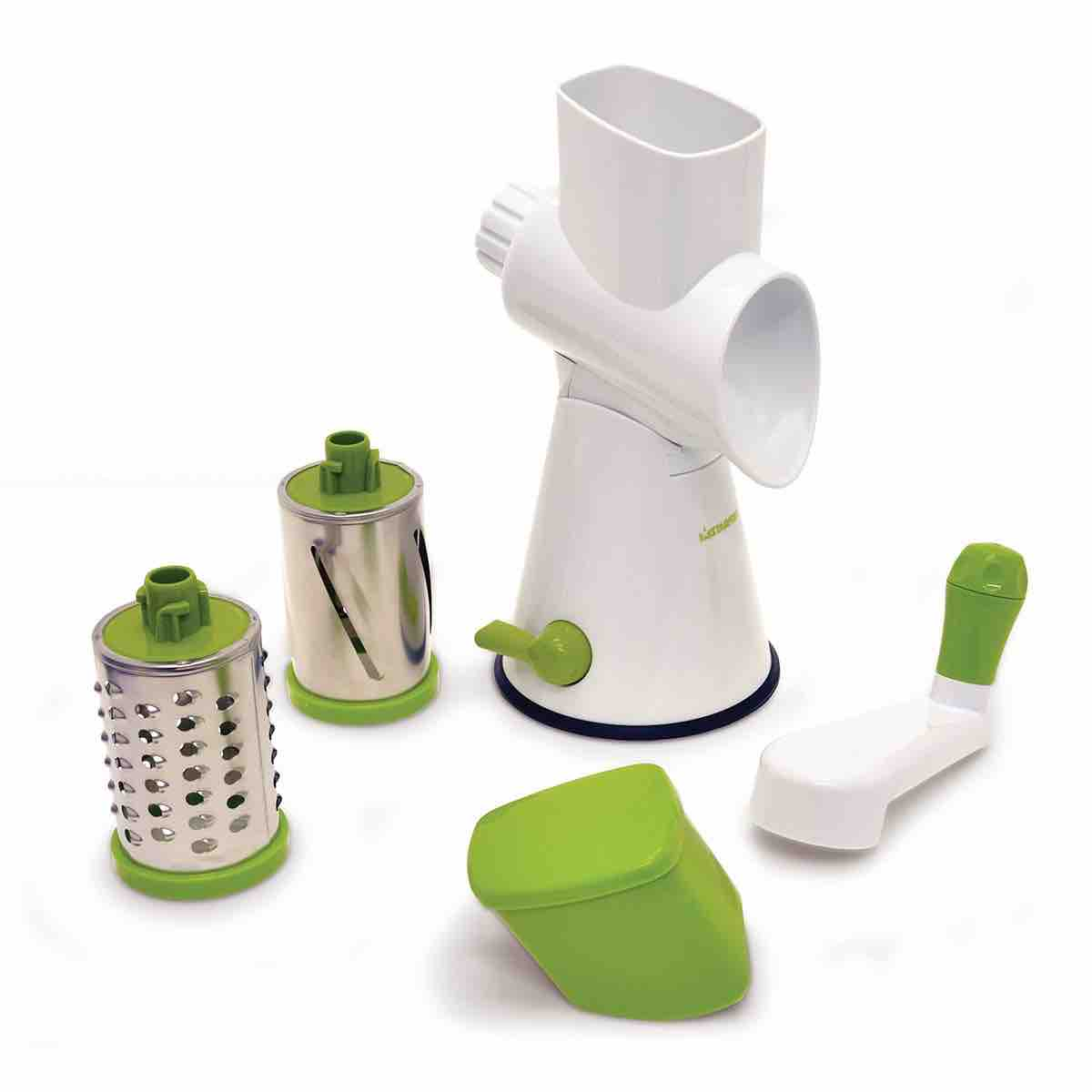 Drum Grater with Suction Base