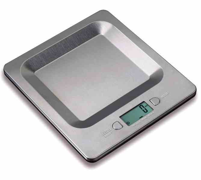 Digital Kitchen Scale | Stainless Steel