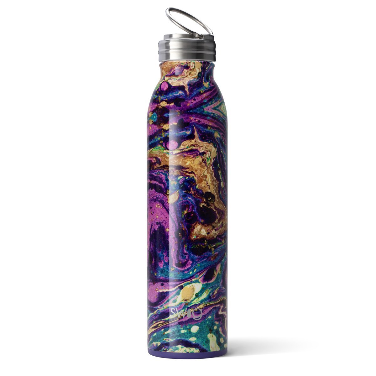 Swig Insulated Steel 20oz Water Bottle | Purple Rain