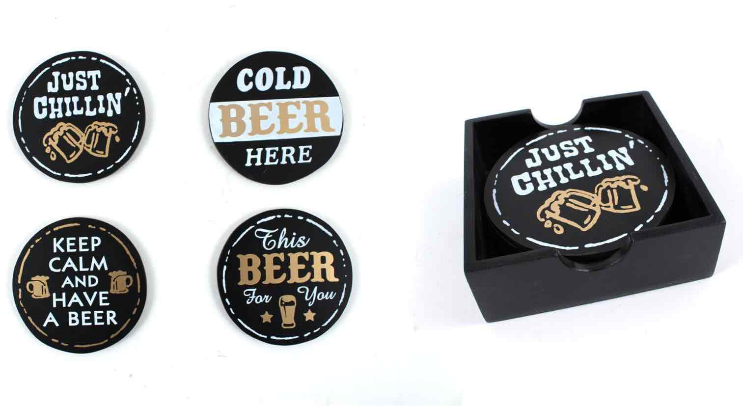 Beer Coasters | Set of 4