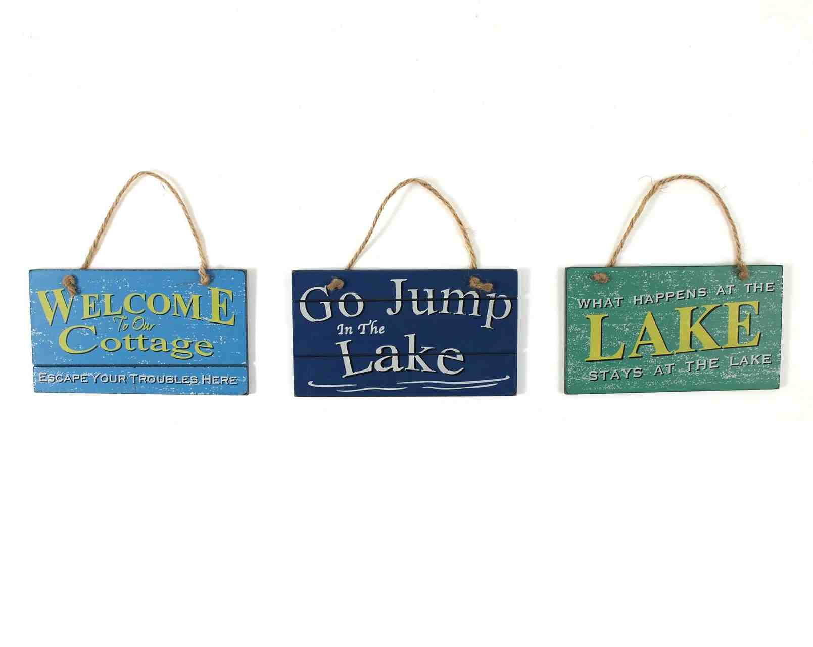 Hanging Sign | Lake Life | Assorted