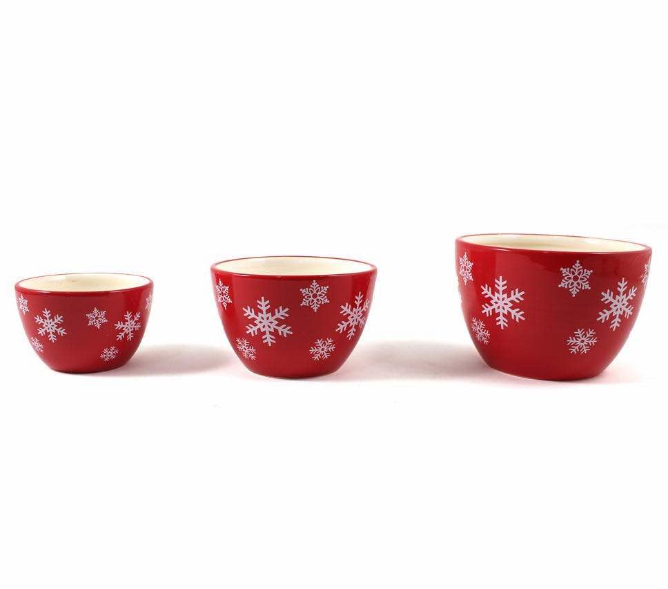 Christmas Nesting Bowls | Set of 3