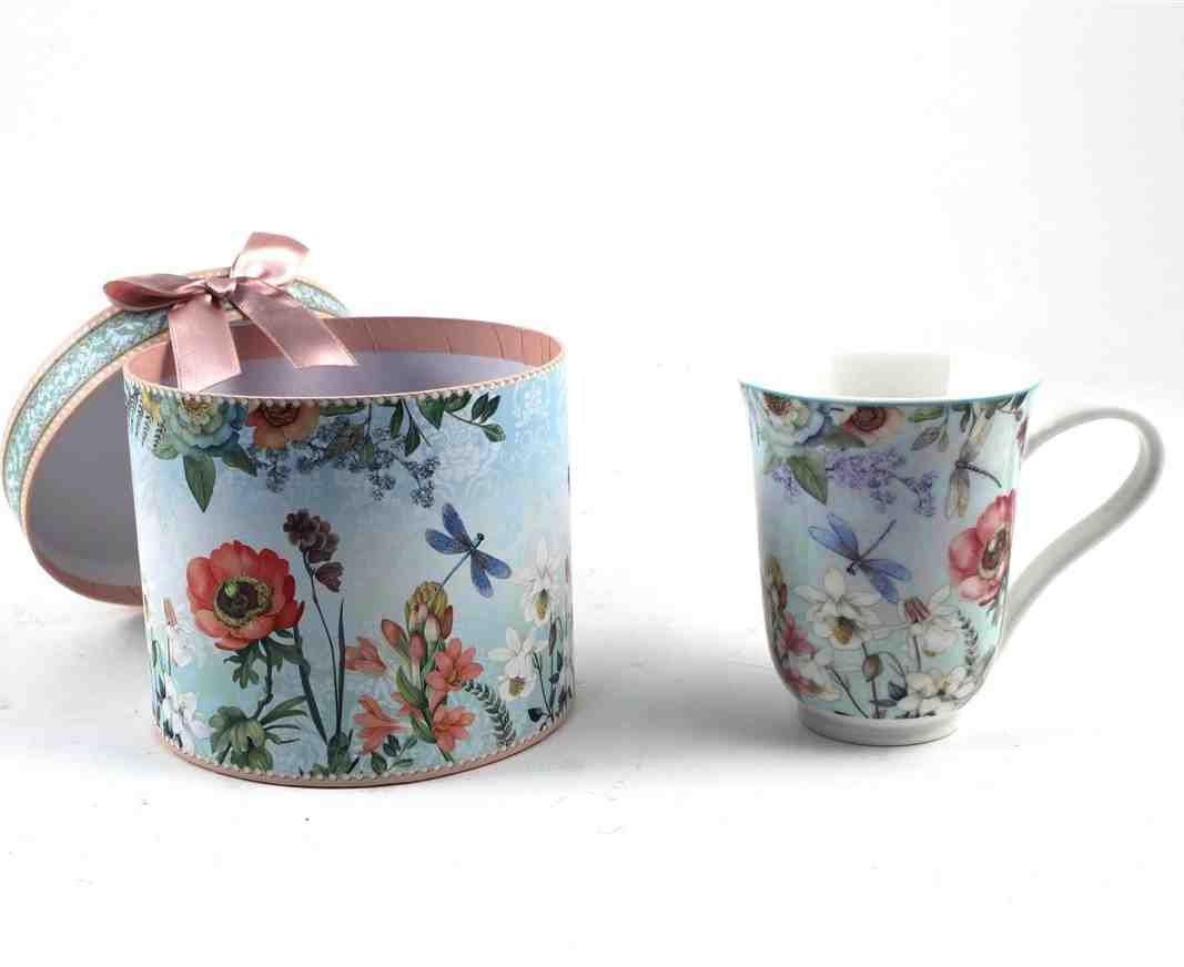 Royal Floral Mug in Giftbox