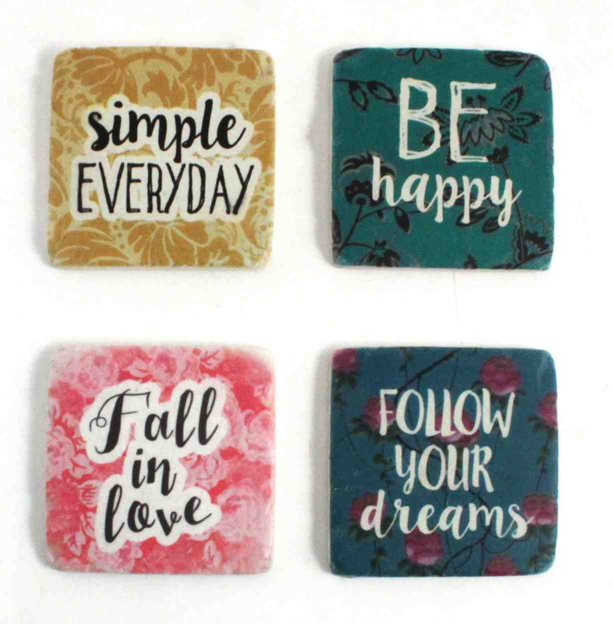 Affirmation Coasters | Set of 4