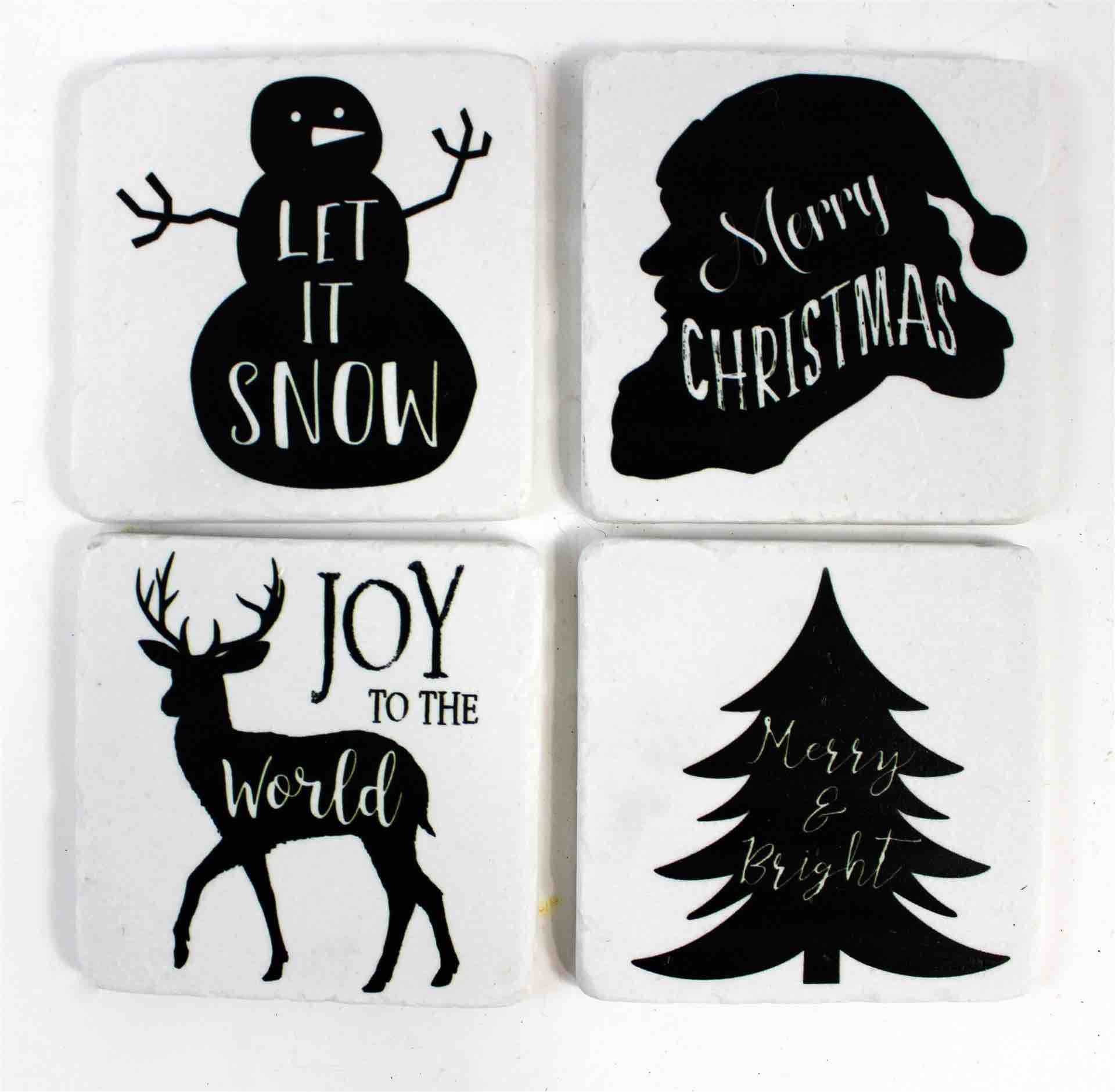 Christmas Coasters | Set of 4