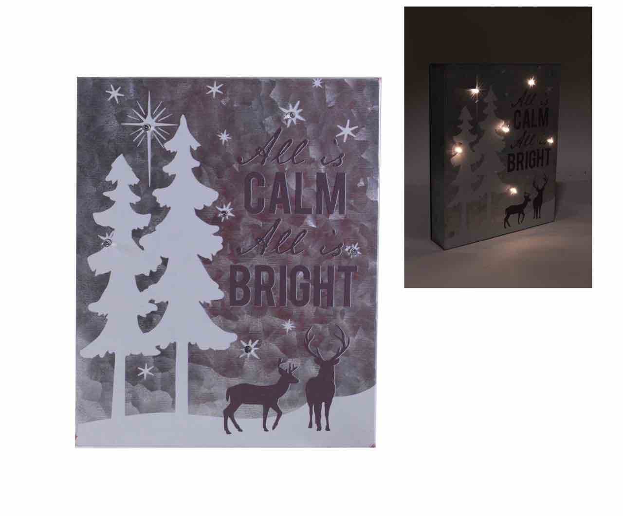 Christmas Wall Sign | All Is Calm