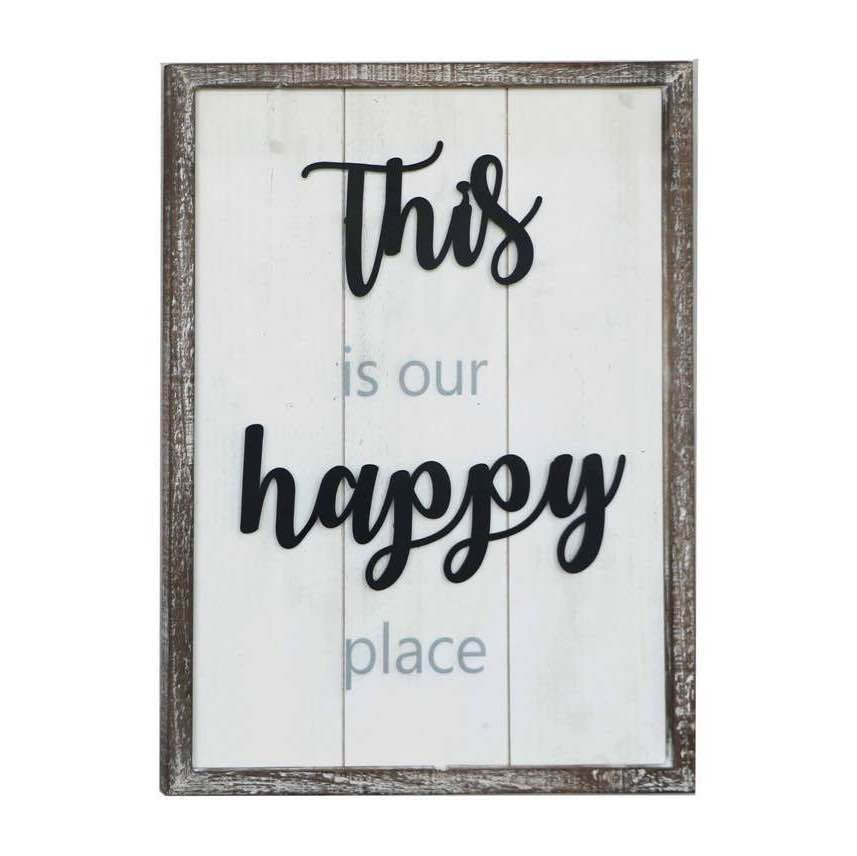 Wall Sign | This is our Happy Place