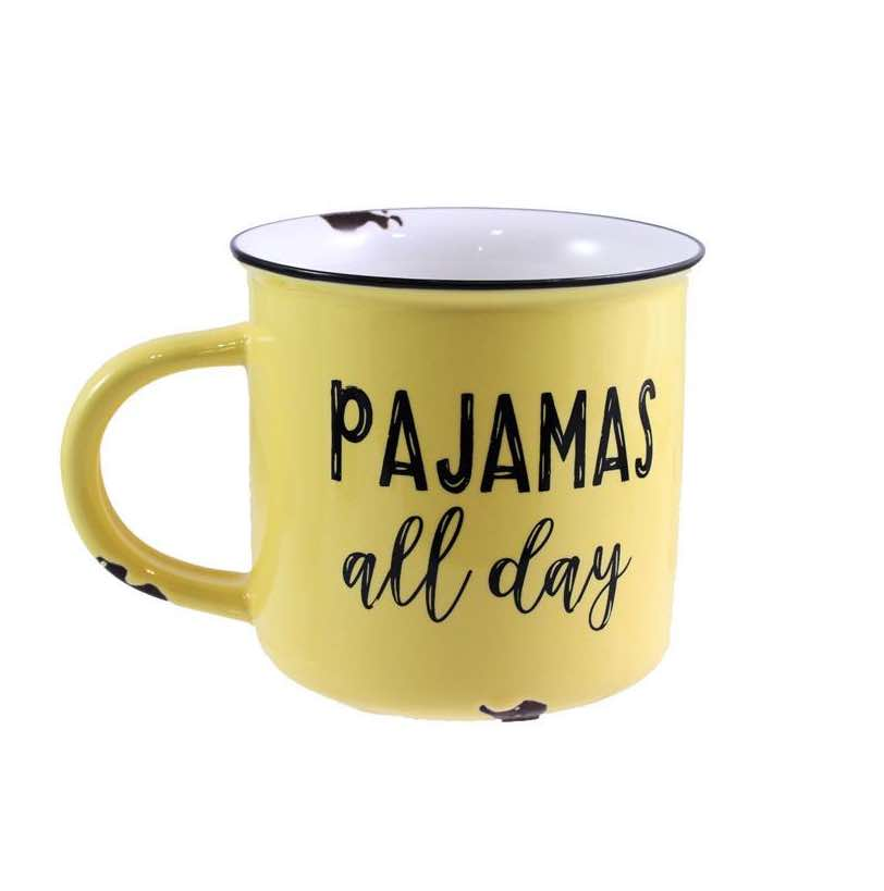 Enamel Look Mug | Pajamas All Day