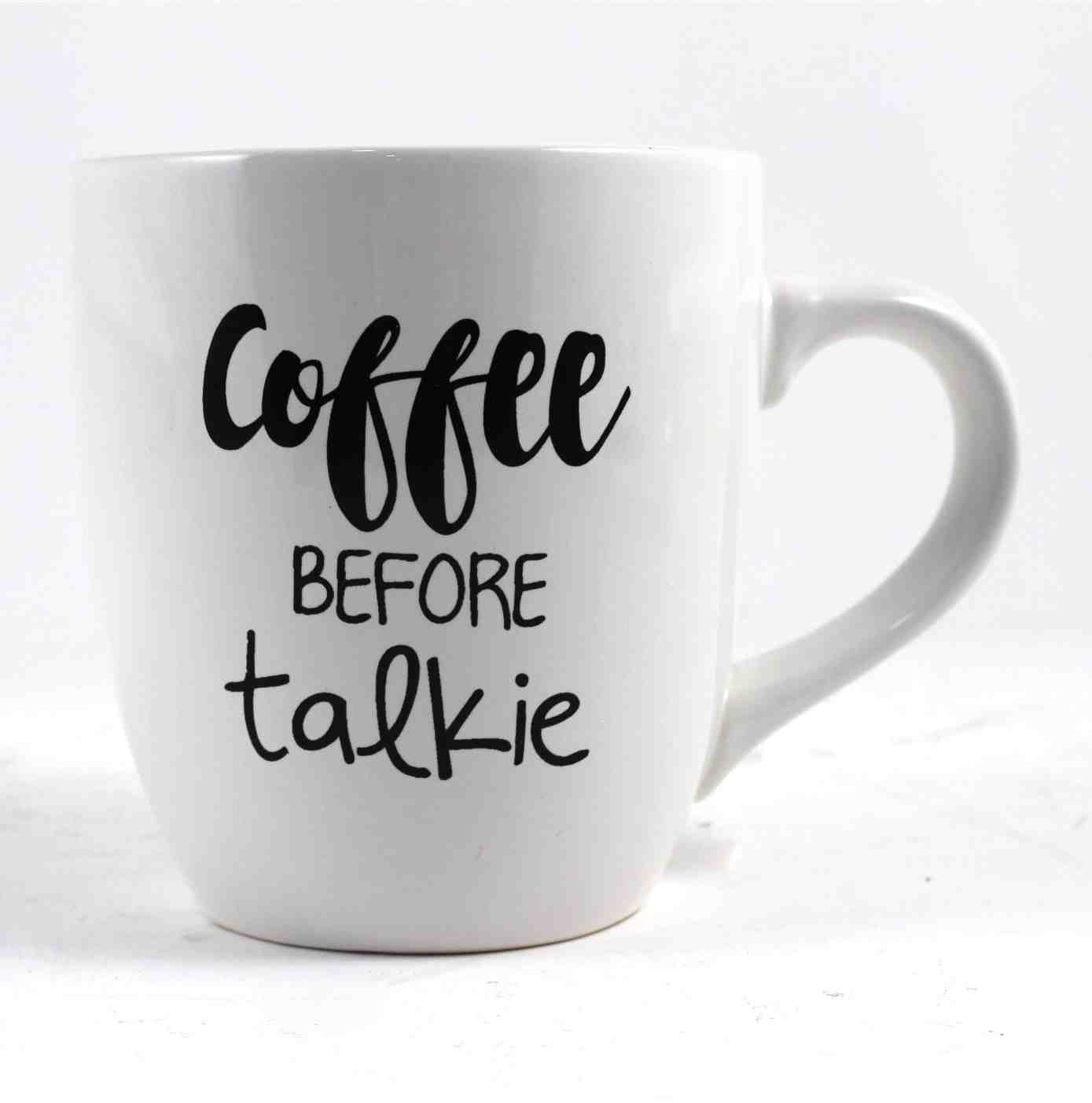 Coffee Before Talkie | Oversize Mug