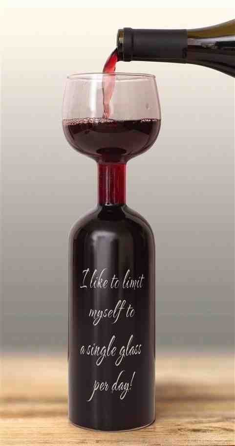 750mL Wine Bottle Glass