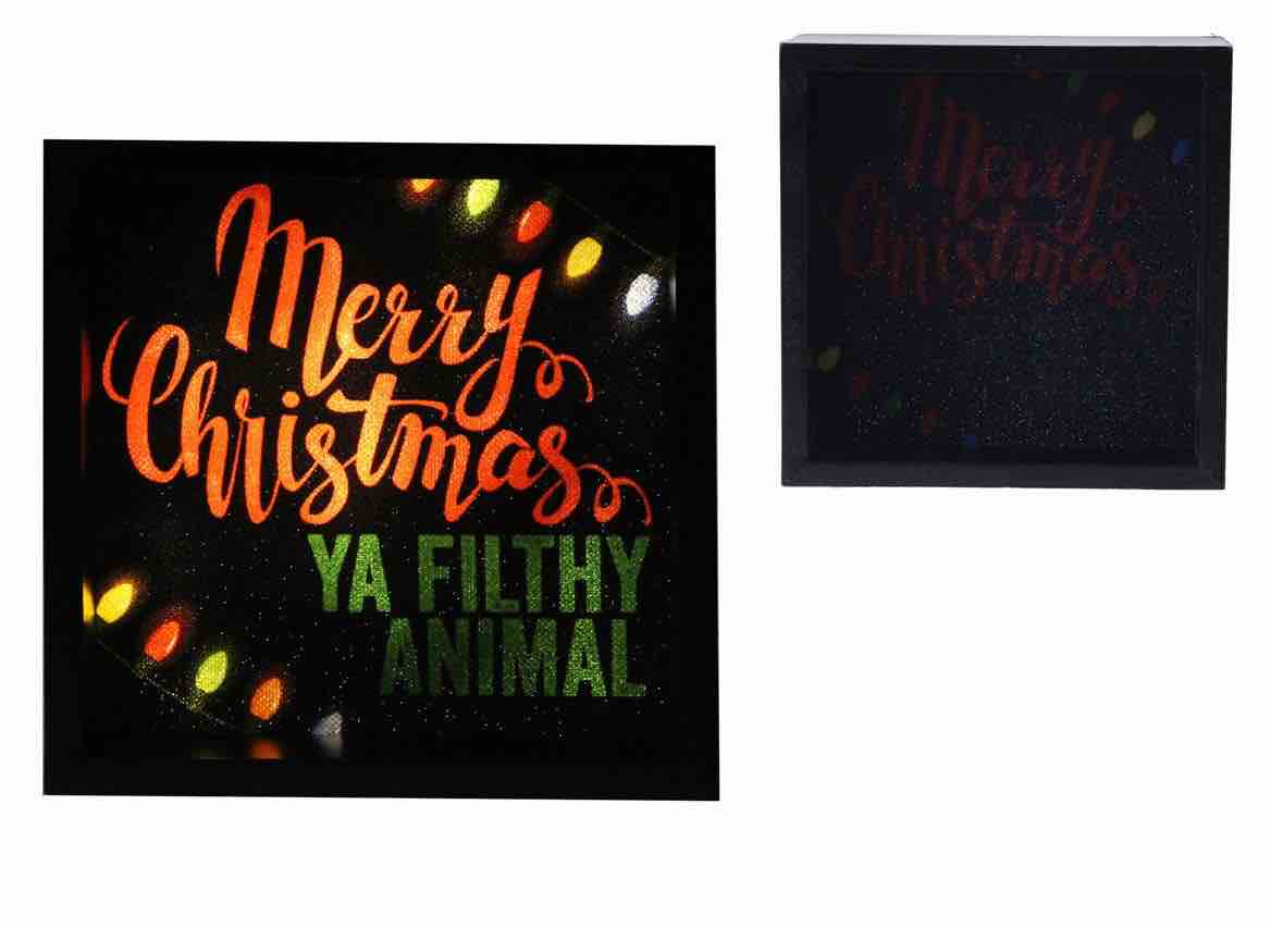 Christmas Lite Box | Filthy Animal