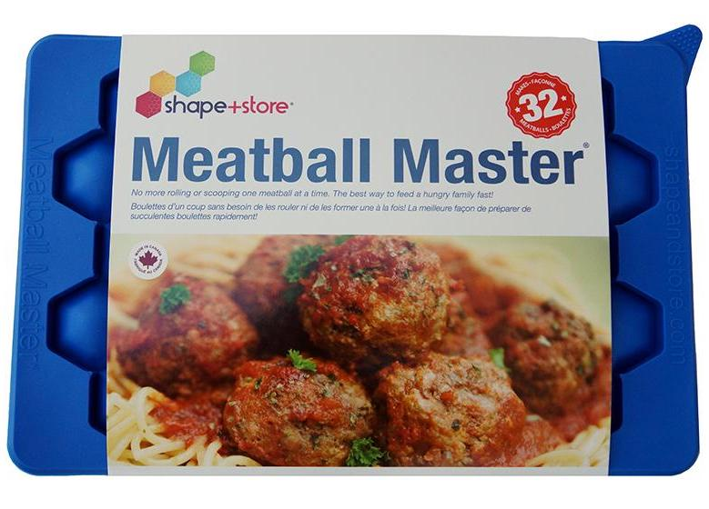The Meatball Master | Meatball Maker & Freezer Container