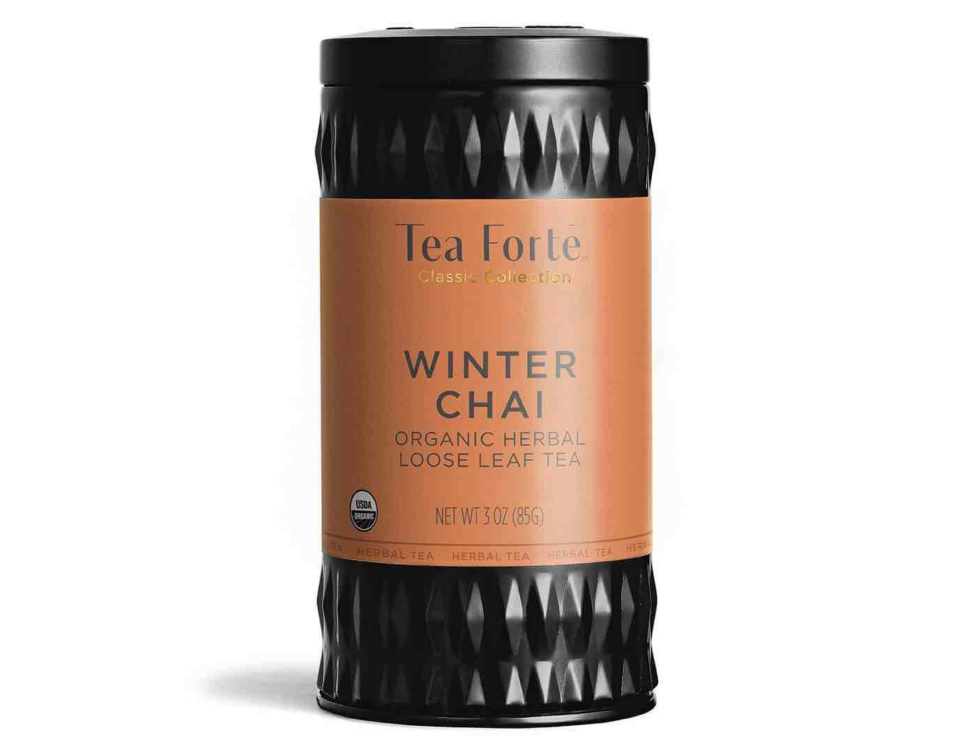 Tea Forte Herbal Tea Canister | Winter Chai