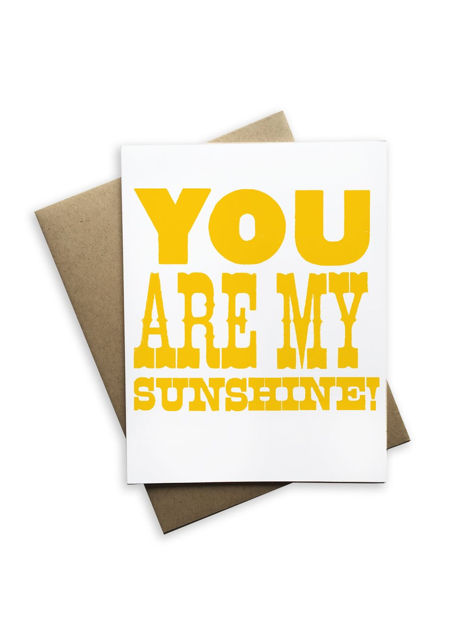Notecard | You Are My Sunshine