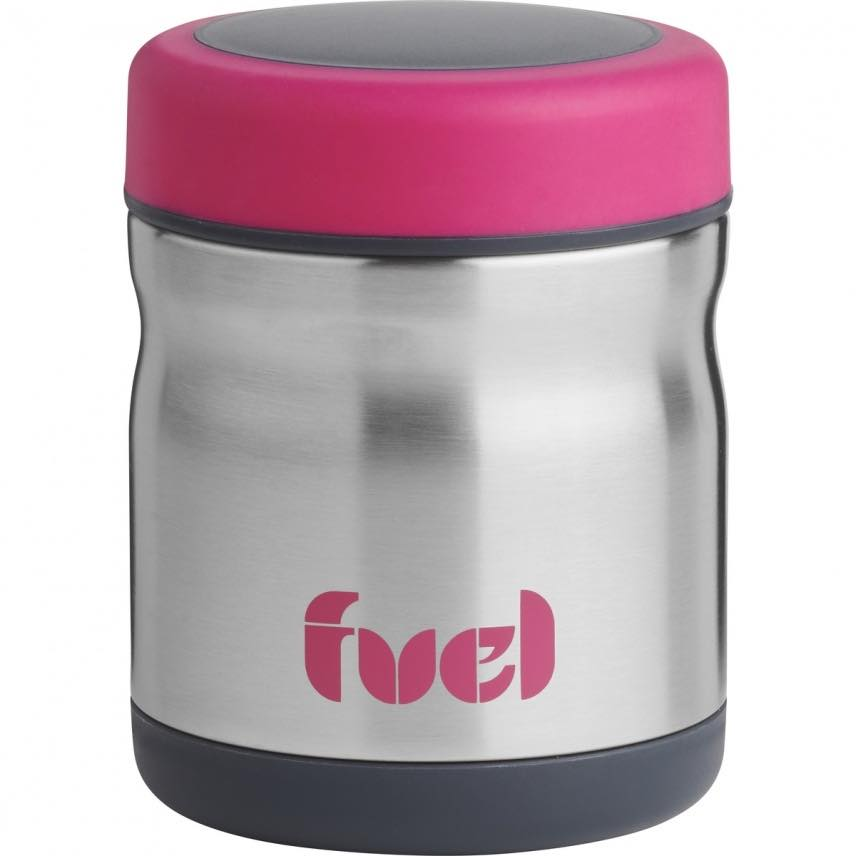 Fuel Peak Double Wall Food Jar | 450mL | Pink
