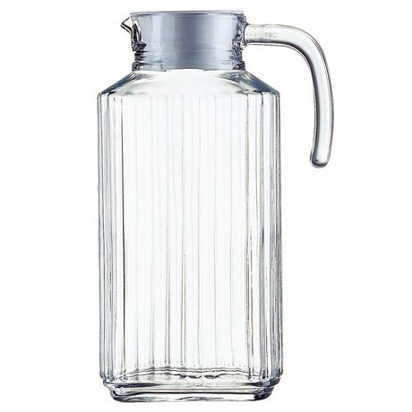 Linea Fridge Jug | Glass Pitcher | 1.87L