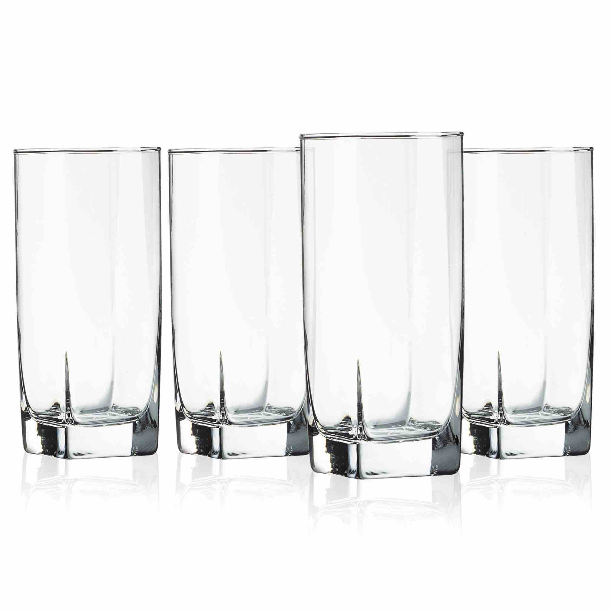 Sterling Hiball Cooler Glasses 15.25oz Set of 4