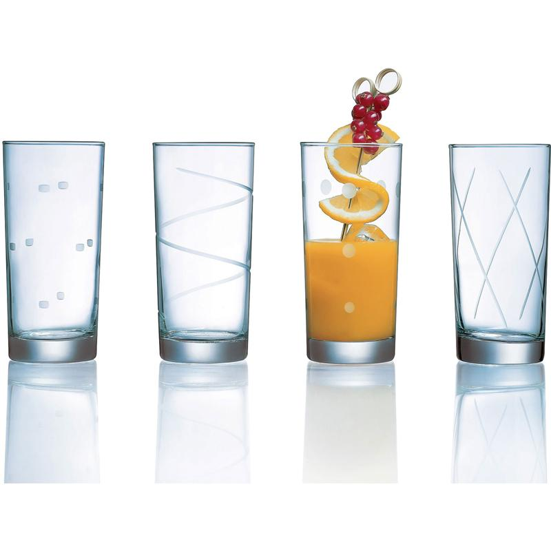 Soho Cooler Glasses 15.25oz Set of 4