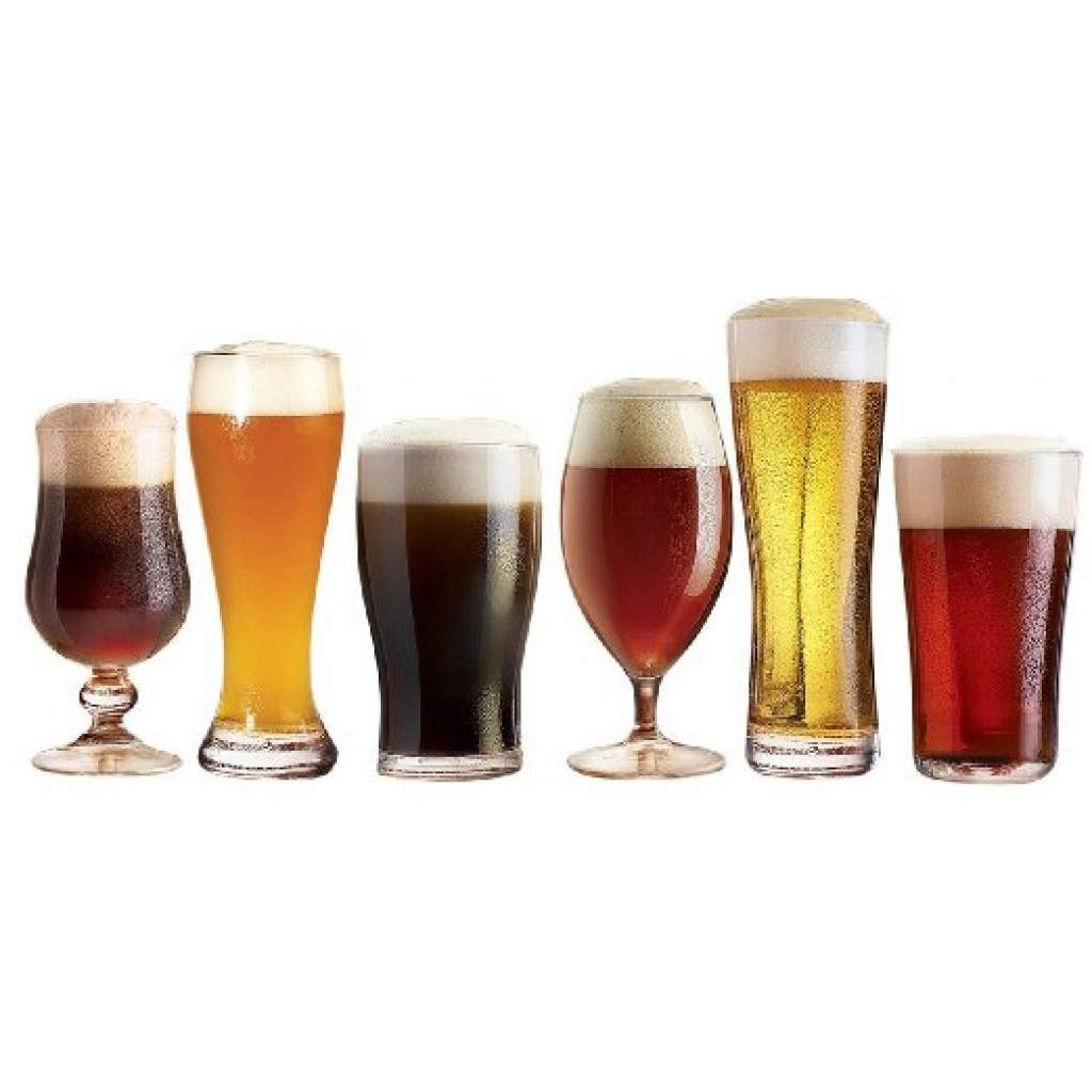 Craft Brew Beer Tasting Set of 6