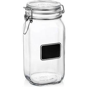 Fido Glass Jar 1.6L with Chalkboard