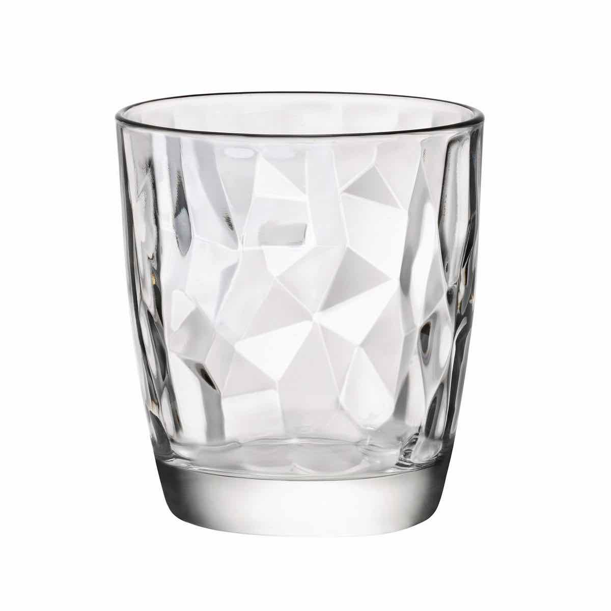 Diamond DOF Glasses 13.25oz | Set of 4