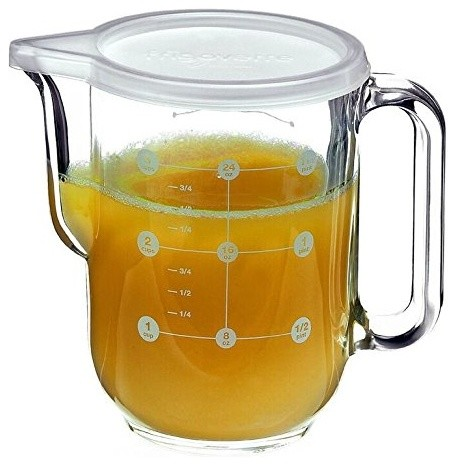 Glass Measuring Jug with Lid | 1L