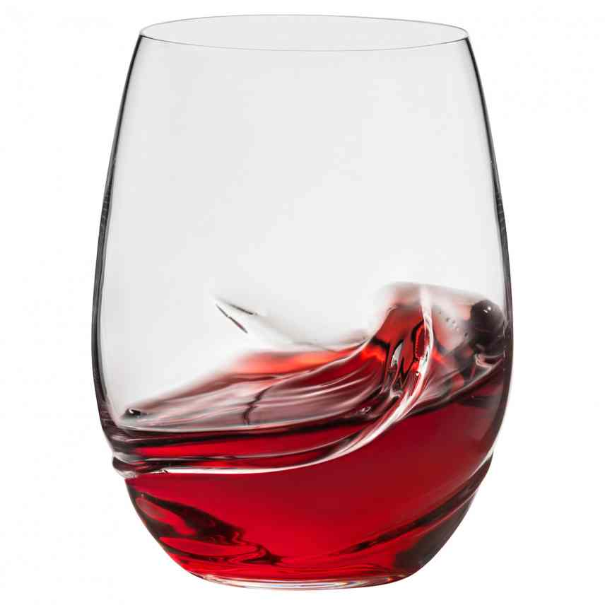 Oxygen Stemless Wine Glasses 17oz Set of 2