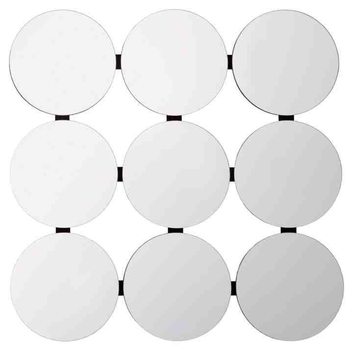 Multi Circle Wall Mirror