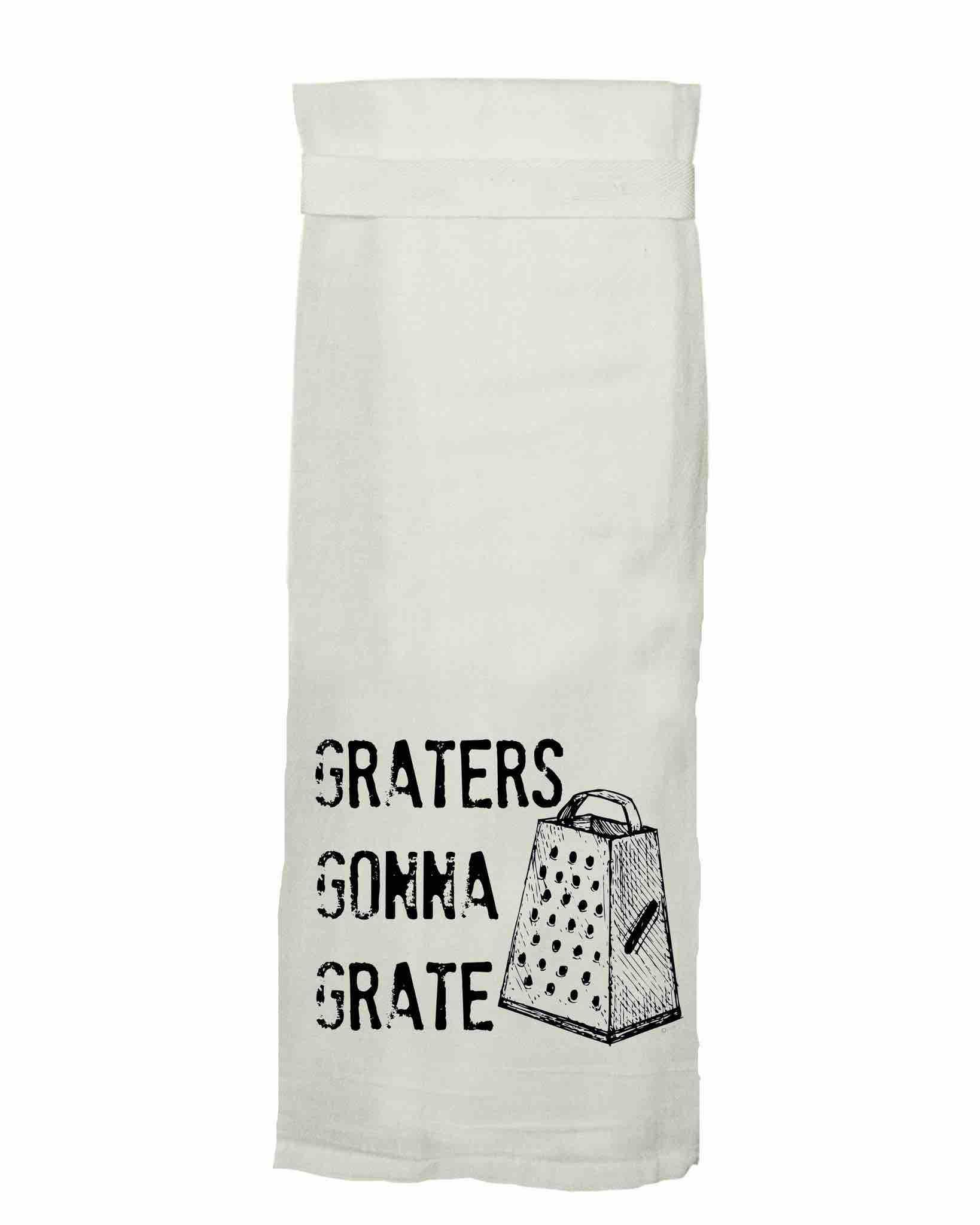 Twisted Wares Hang Tight Towel | Graters Gonna Grate