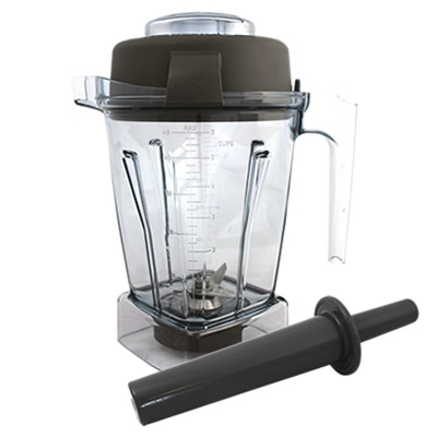 Vitamix 48oz Wet Container with Lid and Tamper