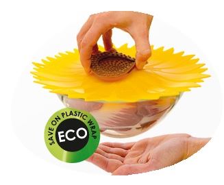 Sunflower Silicone Lid - Medium 21cm