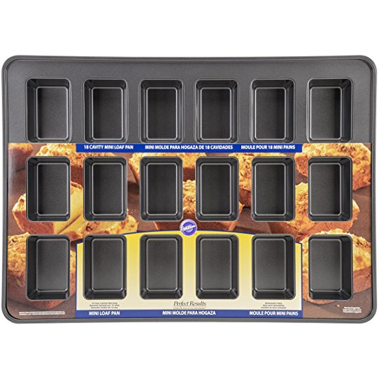 Wilton Mega Mini Loaf Pan | 18 Cavity