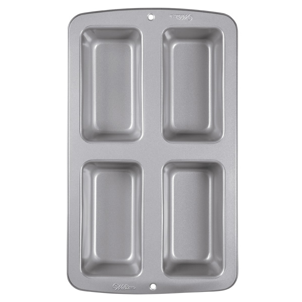Mini Loaf Pan | 4-Cavity