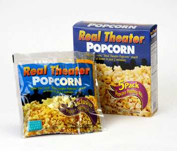 Whirley Pop 5.5oz Real Theatre Popcorn Popping Kits