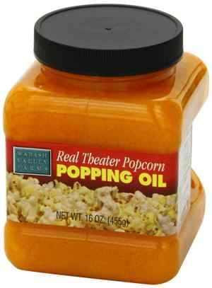 Whirley Pop Real Theater Popcorn Popping Oil