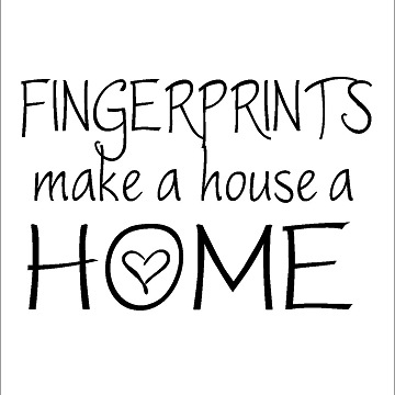 Wall Talk Quotes - Fingerprints