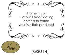 Wall Talk - Graphically Speaking - Frame It