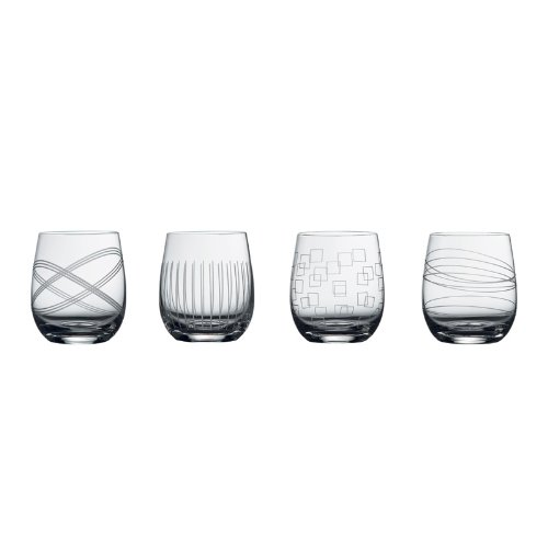 Royal Doulton Party Collection DOF Glasses Set of 4 - 24299