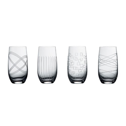 Royal Doulton Party Collection Hiball Glasses Set of 4 - 24298