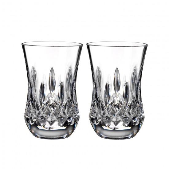 Waterford Lismore 6oz Flared Whisky Tumblers - Set of 2