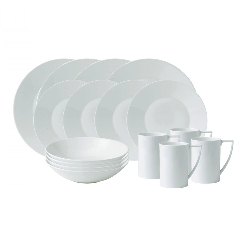Wedgwood Jasper Conran White 16pc Dinnerware Set