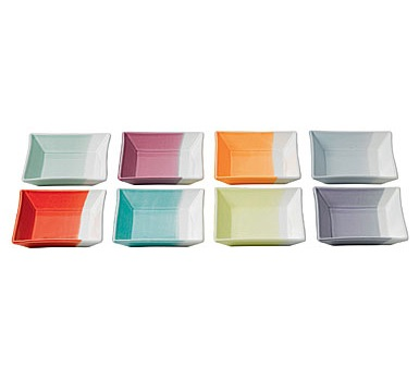 Royal Doulton 1815 Tapas Set of 8 12cm Square Trays