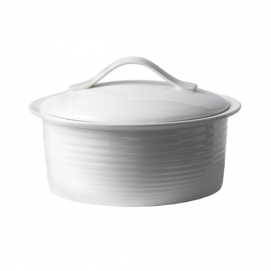 Gordon Ramsay MAZE White 2qt Covered Casserole