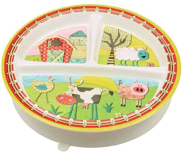 Sugar Booger Farm Divided Suction Plate
