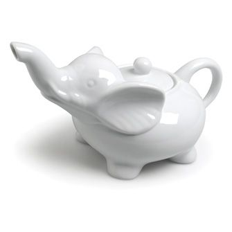 White Elephant Teapot | 28oz