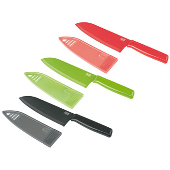 "Kuhn Rikon 6"" Chef's Knife - Red"