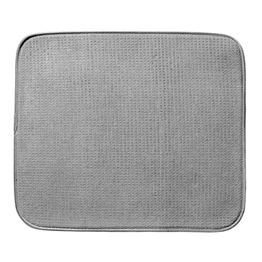 Envision Dish Drying Mat | 18x16 Grey