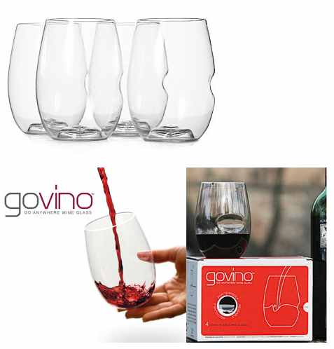 GoVino Shatterproof Wine Glasses | Set of 4