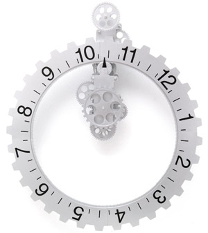 Big Hour Wheel Wall Clock